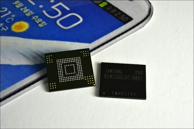 emmc64gb 2.1 Samsung reveals new, smaller chip for mobile phones