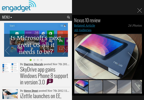 DNP Welcome to the new and improved, leaner and faster Engadget