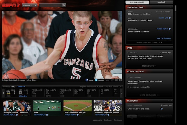 ESPN3 college basketball