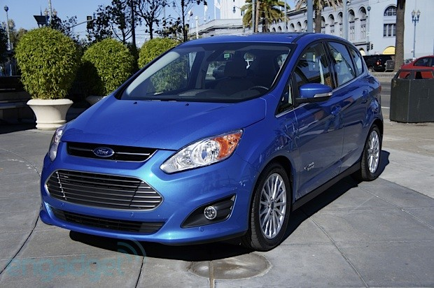 DNP Ford CMax Energi plugin hybrid test drive video