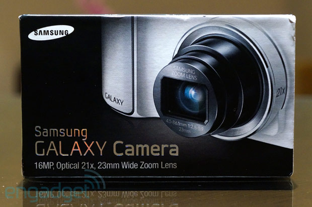 Samsung Galaxy Camera unboxing video