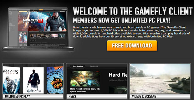 GameFly's digital distribution client officially exits beta, celebrates by giving away Bioshock