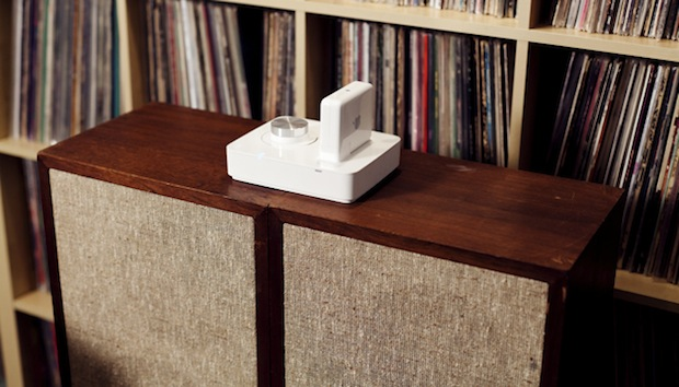 DNP Griffin's Twenty Audio Amp enables AirPlay in any 21 speakers with your AirPort Express