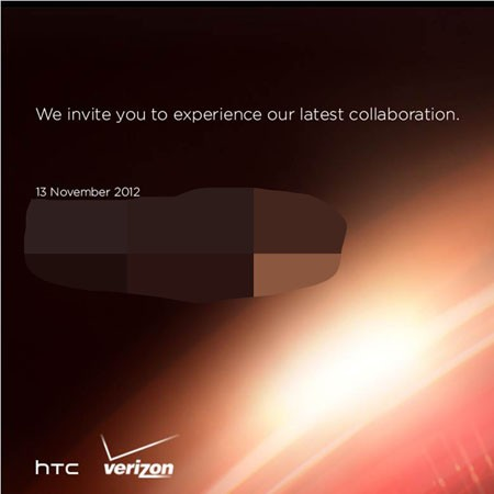 HTC and Verizon to hold a press event in New York City on November 13th