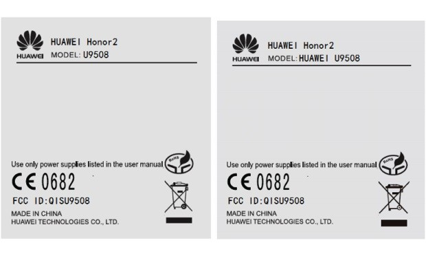 Huawei Honor 2 passes through the FCC with North American 3G, not much else