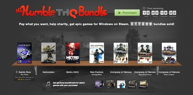 Humble Bundle teams with THQ for Darksiders, Metro 2033, Saints Row The Third on the cheap