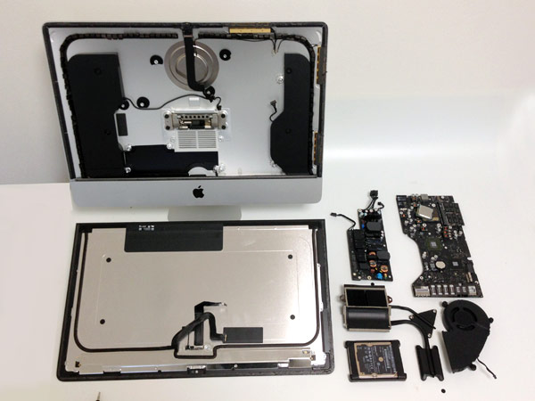 New 215inch iMac gets an early teardown in Japan