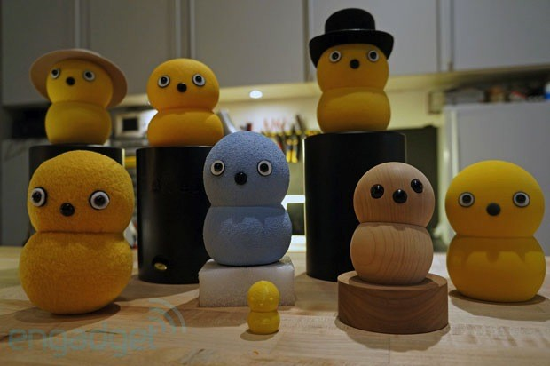 Visualized meet the Keepon family