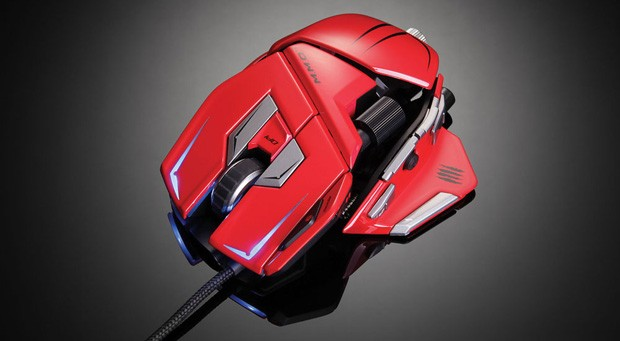 Mad Catz RAT mice get three new paint schemes just in time for the holidays