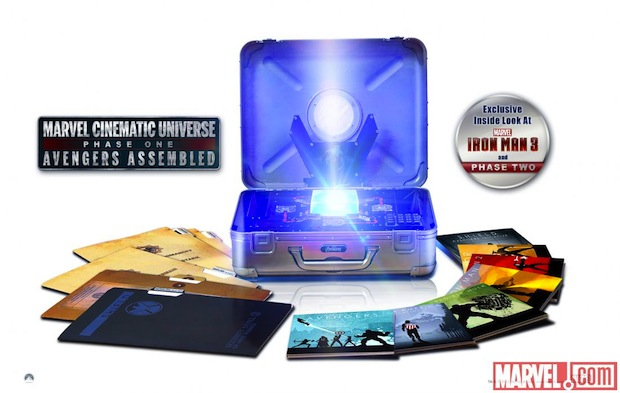 Marvel Cinematic Universe Phase One Bluray set is back on, ships April 2nd
