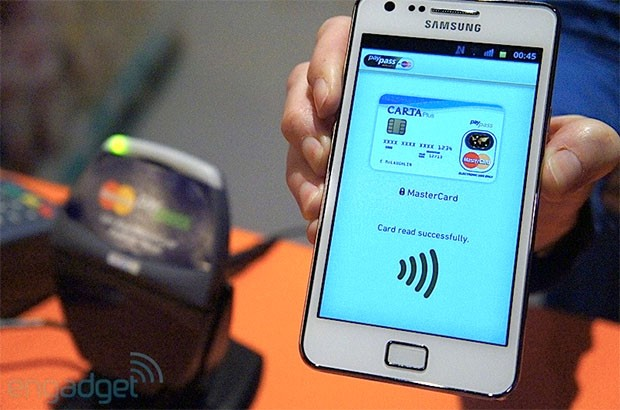 Mastercard previewing EMV internet smartphone payment system with NFCstrength security