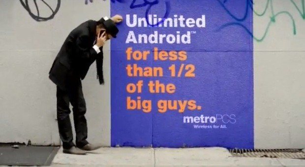 MetroPCS street ad