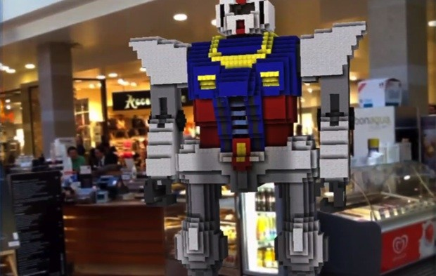Minecraft Reality released for iOS, brings blocky creations into an organic, augmented reality