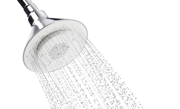 Kohler's Moxie shower head makes it rain music, sticks with you all morning  