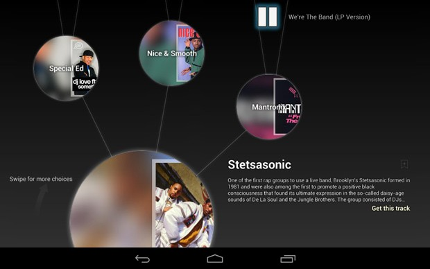 Google's Music Explorer hits the Play store, recommends artists based on...