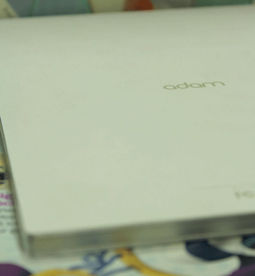 Notion Ink's Adam II greets Twitter with blurry eyes