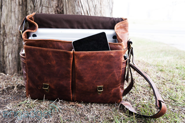 Ona Brixton Leather handson the sexiest laptop  camera messenger bag you've ever seen