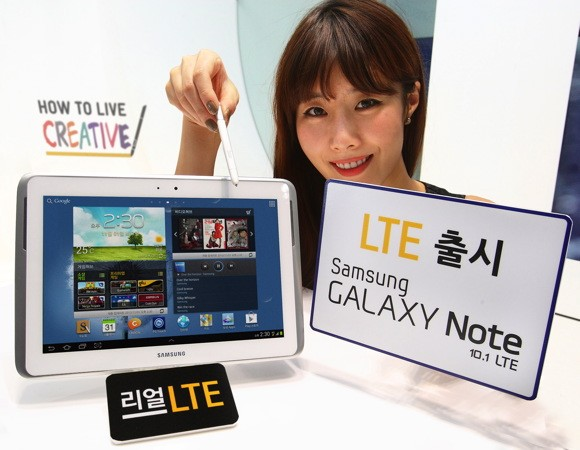 Samsung launches LTE edition of Galaxy Note 101 in Korea