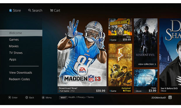 DNP Redesigned PlayStation Store now live in North America