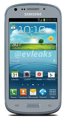 Alleged 4inch Samsung Galaxy Axiom leaks, could be headed to US Cellular