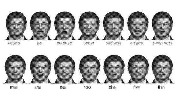 Samsung patent gives emotions to a virtual face through voice, can tell when you're cracking up