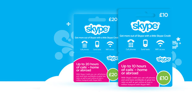 Skype launches prepaid cards in UK Available in over 1,400 stores, credit starts at 10