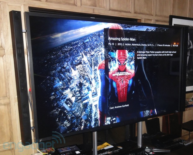 DNP Sony XBR 4K LED Ultra HDTV eyeson Impressions