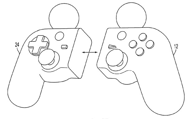Sony patent application details hybrid DualShock / PlayStation Move controller