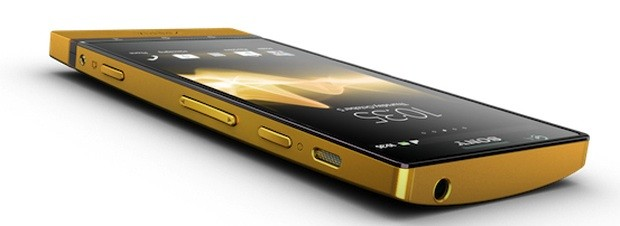 Sony coats Xperia P in 24carat gold, keeps up tradition of soso phones in luxury shells