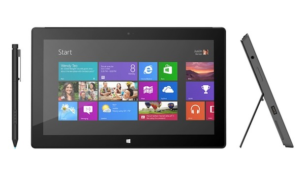 Microsoft confirms Surface with Windows 8 Pro pricing starting at $899 for 64GB version