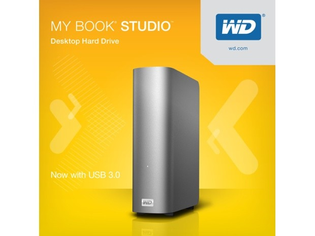 Western Digital boosts entire MyBook Studio line with USB 30, adds 4TB model to the mix