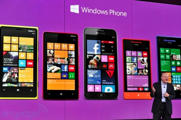 Microsoft selling four times as many Windows Phones as a year ago, won't say what that means