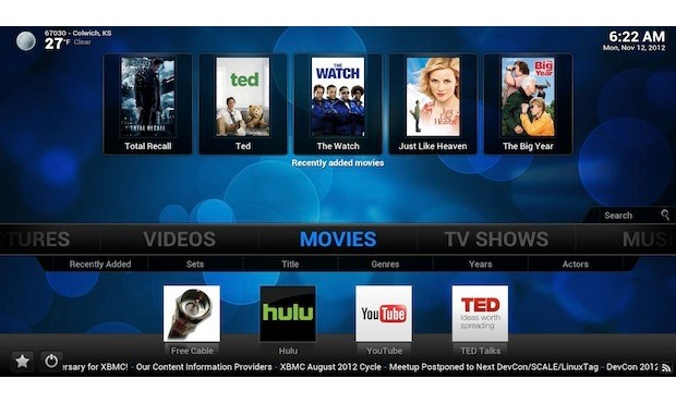 XBMC 12 'Frodo' Beta 1 appears, includes support for Android, Raspberry Pi, HD audio and more