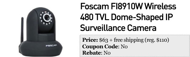 Slickdeals' best in tech for December 5th Garmin nuvi, 47inch LG 3D HDTV and Foscam surveillance camera