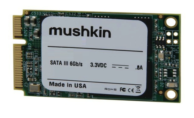 DNP Mushkin shipping 'worlds first' 480GB mSATA SSD for $500
