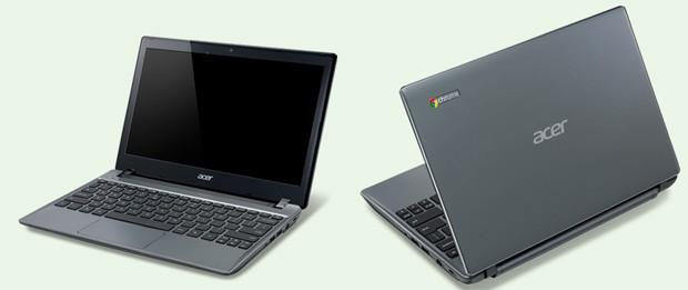 Acer outs C710-2605 Chromebook, 500GB HDD, 4GB RAM, 100GB Google Drive for two years