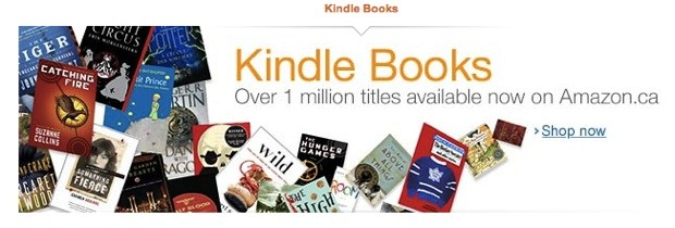 Amazon Kindle ebookstore reaches Canada, cuts Americans partly out of the loop