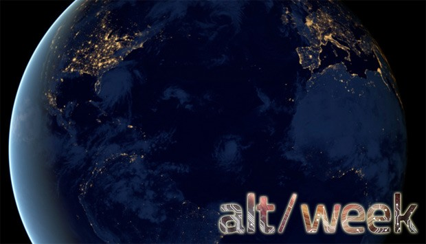 Altweek 120812 The oldest known dinosaur, lighting up a space station and the black marble