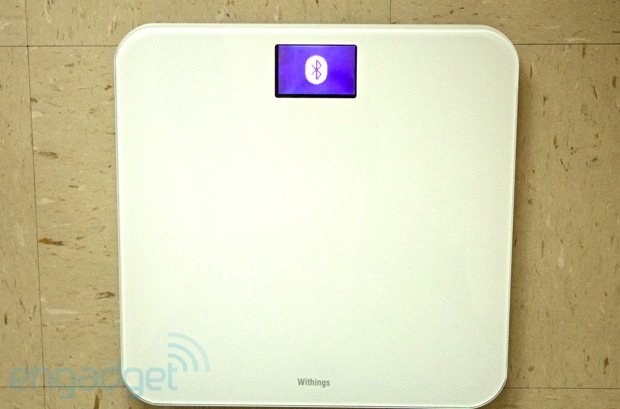Withings WS-30 WiFi bathroom scale hands-on