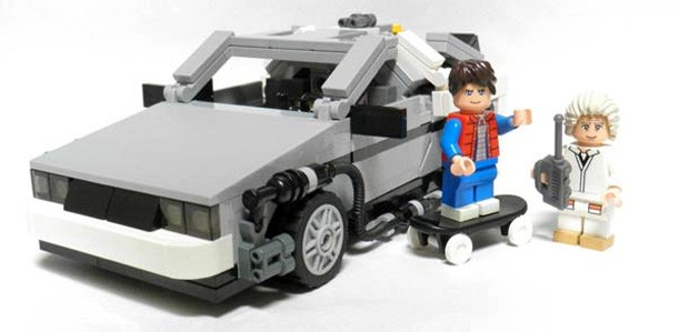 Back to the Future DeLorean reaches Lego form in mid2013, probably won't reach 88MPH video