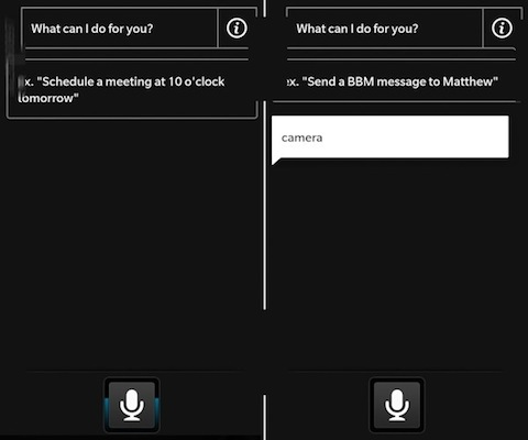 DNP Leaked BlackBerry 10 screenshots reveal new UI, possible Sirilike voice interface