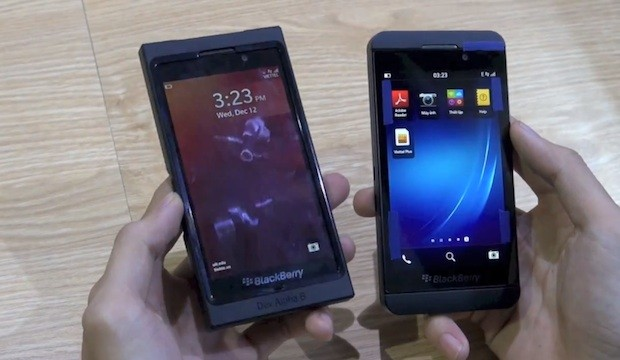 BlackBerry 10 LSeries shown off in detailed handson video