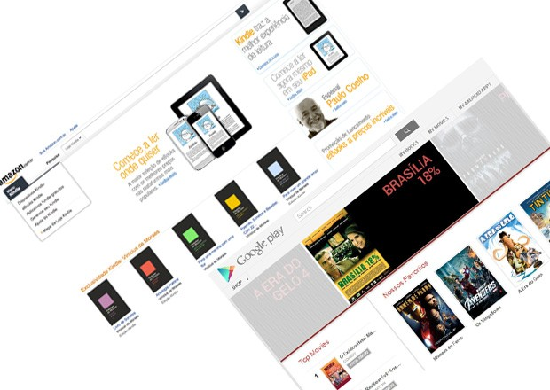 Amazon and Google start selling ebooks in Brazil