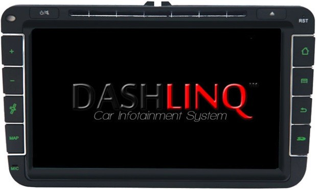 CaFi Dashlinq upsizes incar Android infotainment, arrives in January