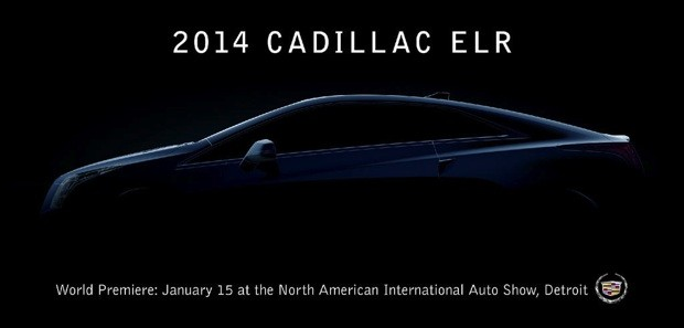 Cadillac teases 2014 ELR electric coupe reveal on January 15th