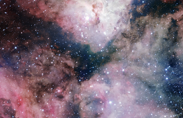 DNP Visualized Carina Nebula taken with a 268megapixel camera