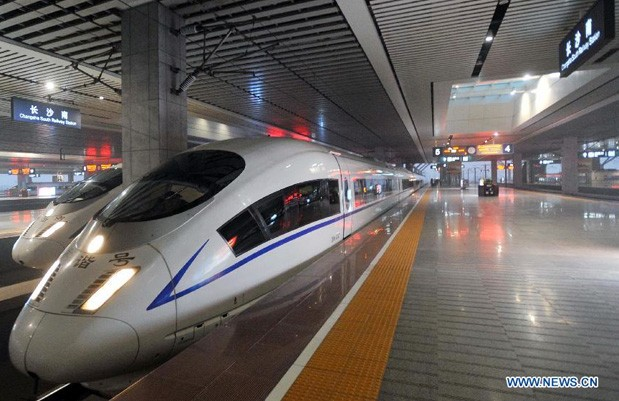 China claims world's longest highspeed rail line, takes travelers 1,428 miles in a workday