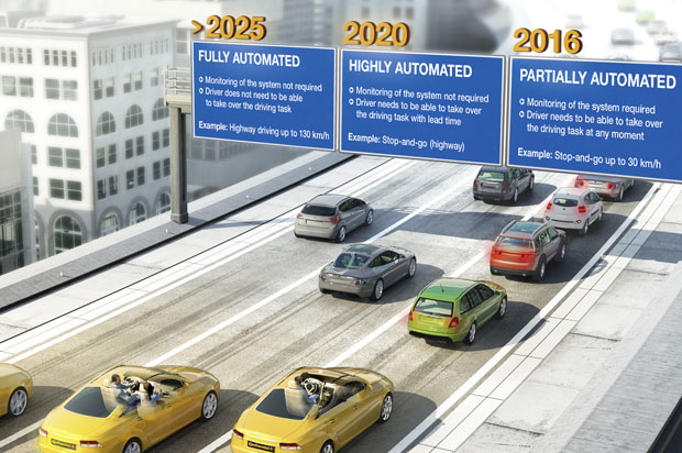 Continental gets its 'highly automated vehicle' approved for Nevada roads, joins Google in the Silver State