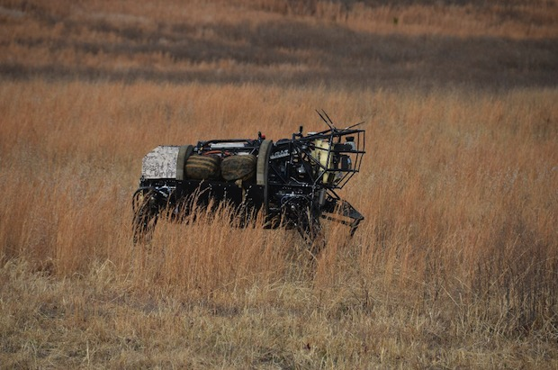 DARPA shows off latest advances to fourlegged LS3 robot more  maneuverable, more autonomous