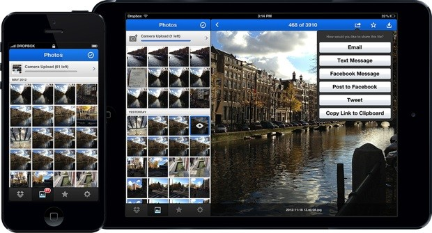Dropbox 20 launches for iOS with new Photos tab and a streamlined UI